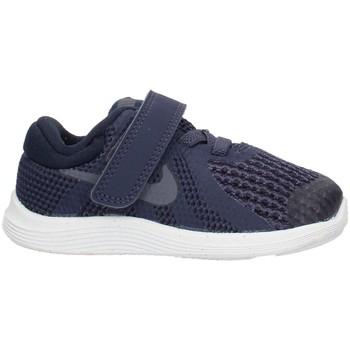 Boty Chlapecké Nízké tenisky Nike 943304 Modrá