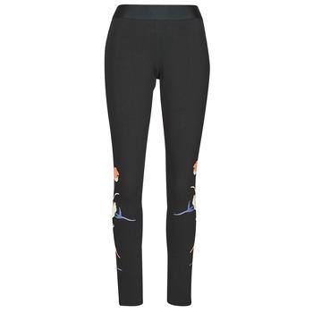 Textil Ženy Legíny adidas Performance FLORL GFX TIGHT Černá
