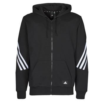 Textil Muži Teplákové bundy adidas Performance M FI 3S FZ Černá