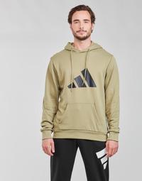 Textil Muži Mikiny adidas Performance M FI 3B HOODIE Zelená