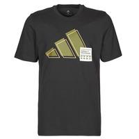 Textil Muži Trička s krátkým rukávem adidas Performance 3BAR LOGO TEE Černá