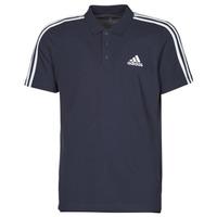Textil Muži Polo s krátkými rukávy adidas Performance M 3S PQ PS Inkoust