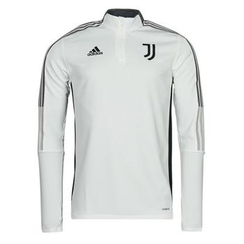 adidas Teplákové bundy JUVE TR TOP - Bílá
