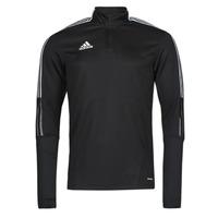 Textil Teplákové bundy adidas Performance TIRO21 TR TOP Černá