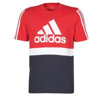 Textil Muži Trička s krátkým rukávem adidas Performance M CB T Červená
