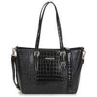 Taška Ženy Velké kabelky / Nákupní tašky Nanucci 9530 Černá