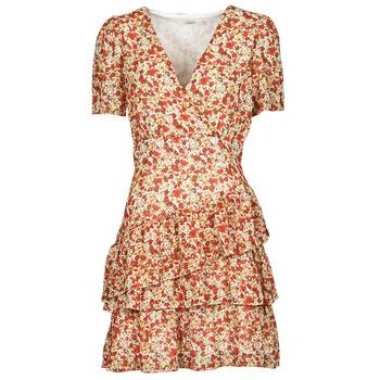 Textil Ženy Krátké šaty Moony Mood ORNAMA Bílá