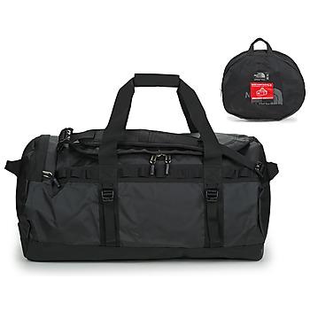 Taška Cestovní tašky The North Face BASE CAMP DUFFEL - M Černá / Bílá