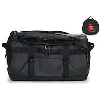 Taška Cestovní tašky The North Face BASE CAMP DUFFEL - S Černá / Bílá