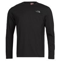 Textil Muži Trička s dlouhými rukávy The North Face L/S EASY TEE Černá