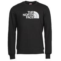 Textil Muži Mikiny The North Face DREW PEAK CREW Černá / Bílá