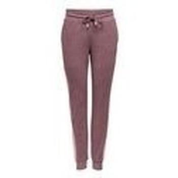 Textil Ženy Teplákové kalhoty Only Play PANTALON DE CHANDAL CORTE SLIM 15209220 Hnědá