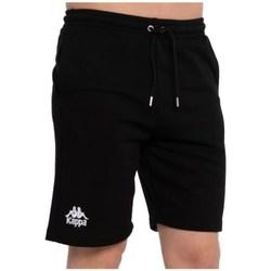 Textil Muži Kraťasy / Bermudy Kappa Topen Shorts Černé