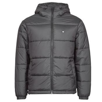 Textil Muži Prošívané bundy adidas Originals PAD HOODED PUFF Černá