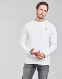 Textil Muži Mikiny adidas Originals ESSENTIAL CREW Bílá
