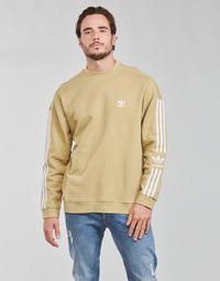 Textil Muži Mikiny adidas Originals LOCK UP CREW Béžová