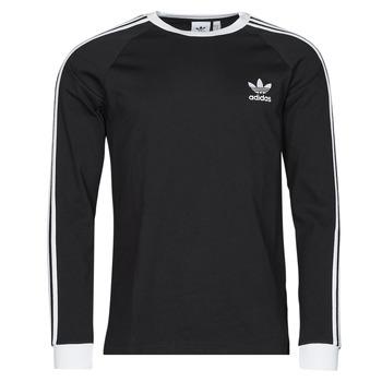 Textil Muži Trička s dlouhými rukávy adidas Originals 3-STRIPES LS T Černá