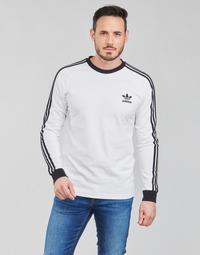 Textil Muži Trička s dlouhými rukávy adidas Originals 3-STRIPES LS T Bílá