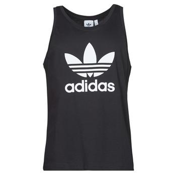 Textil Muži Tílka / Trička bez rukávů  adidas Originals TREFOIL TANK Černá