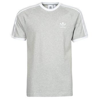 Textil Muži Trička s krátkým rukávem adidas Originals 3-STRIPES TEE Šedá