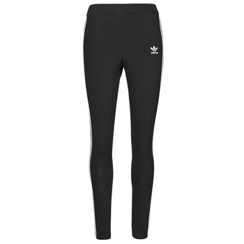 Textil Ženy Legíny adidas Originals 3 STRIPES TIGHT Černá