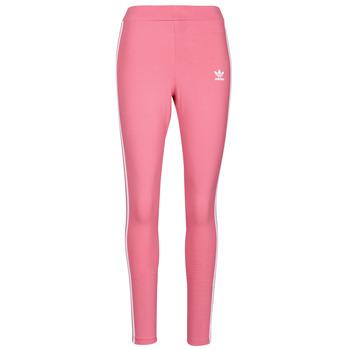 Textil Ženy Legíny adidas Originals 4 STRIPES TIGHT Růžová