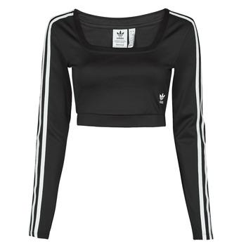 Textil Ženy Trička s dlouhými rukávy adidas Originals LONG SLEEVE Černá