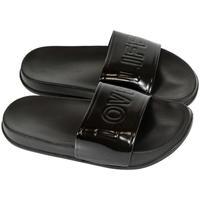 Boty Ženy pantofle John-C Dámske čierne šľapky LOVELIFE čierna