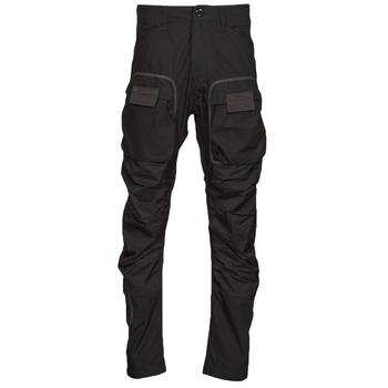 Textil Muži Cargo trousers  G-Star Raw 3D STRAIGHT TAPERED CARGO Černá
