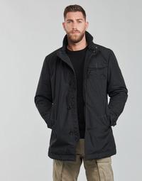 Textil Muži Pláště G-Star Raw UTILITY HB TAPE PDD TRENCH Černá