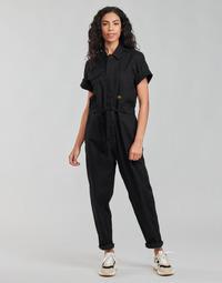 Textil Ženy Overaly / Kalhoty s laclem G-Star Raw ARMY JUMPSUIT SS Černá