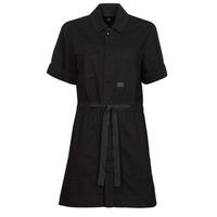 Textil Ženy Krátké šaty G-Star Raw ARMY DRESS SHORT SLEEVE Černá