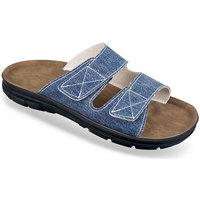 Boty Muži Dřeváky Mjartan Pánske modré papuče  JEANS modrá