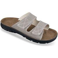 Boty Muži Dřeváky Mjartan Pánske sivé papuče  JEANS sivá
