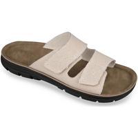 Boty Muži Dřeváky Mjartan Pánske papuče  JEANS béžová