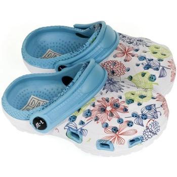 Boty Dívčí Pantofle John-C Detské svetlo-modré crocsy LILLI svetlomodrá