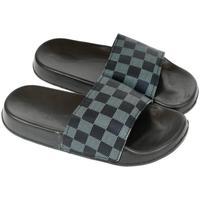 Boty Ženy pantofle John-C Dámske modro-sivé šľapky ELIA tmavomodrá