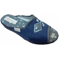 Boty Ženy Papuče Cristina CRI06921blu blu
