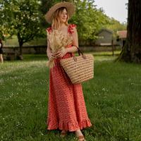 Textil Ženy Společenské šaty Céleste AURORE version courte Červená
