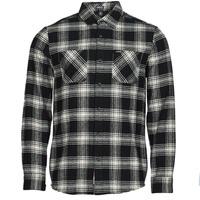 Textil Muži Košile s dlouhymi rukávy Volcom TONE STONE L/S Černá