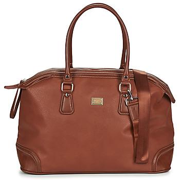 Taška Cestovní tašky David Jones CM5309 Hnědá