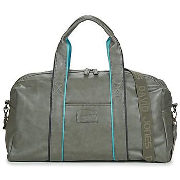 Taška Cestovní tašky David Jones 5917-2 Šedá