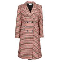 Textil Ženy Kabáty Betty London PIVENE Černá / Červená