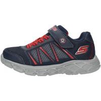 Boty Chlapecké Nízké tenisky Skechers 401530L Modrá