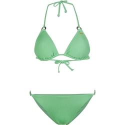 Textil Ženy Bikini O'neill Capri Bondey Fixed Set Zelená