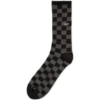 Vans Ponožky Checkerboard crew - Černá