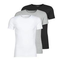 Textil Muži Trička s krátkým rukávem Tommy Hilfiger STRETCH TEE X3 Bílá / Šedá / Černá