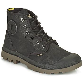 Boty Kotníkové boty Palladium PAMPA CANVAS Černá