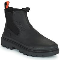 Boty Kotníkové boty Palladium PALLATROOPER WATERPROOF Černá