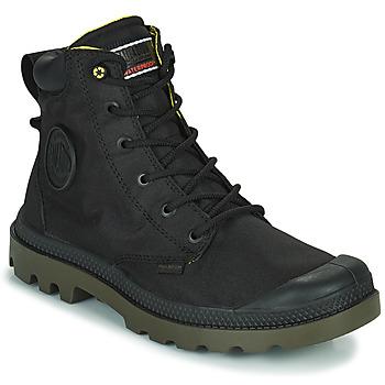 Boty Kotníkové boty Palladium PAMPA RECYCLED Černá